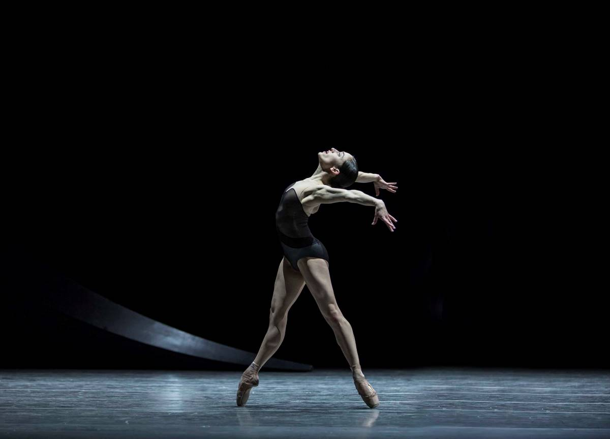 PNB Company Dancer in Empire Noir, part of the One Thousand Pieces mixed repertory