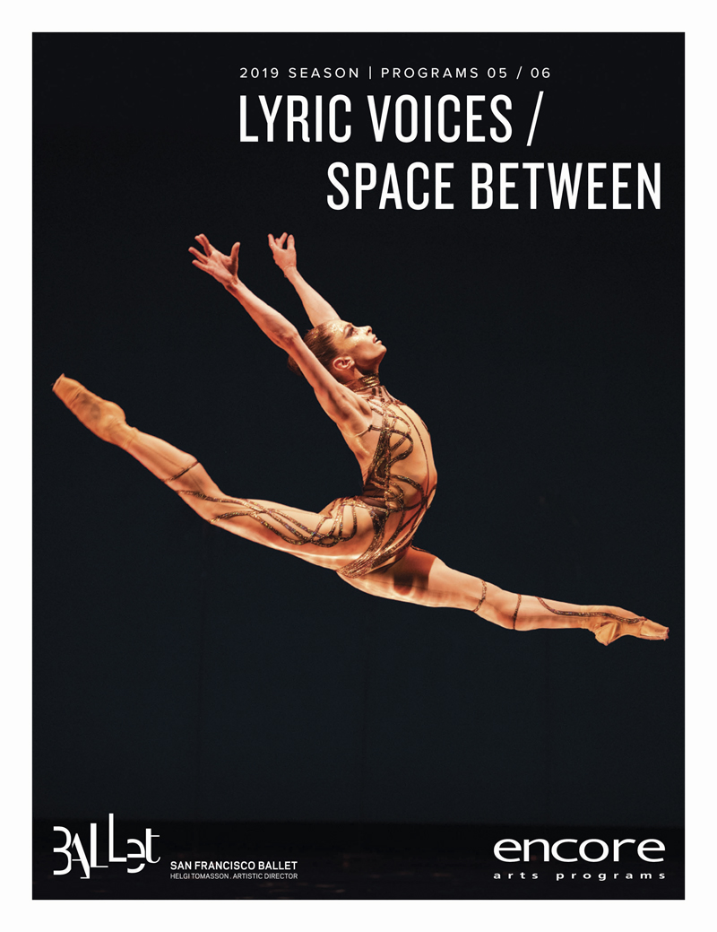 Lyric Voices / Space Between - San Francisco Ballet