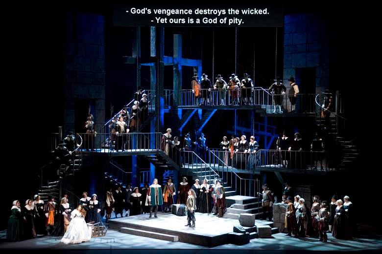 Supertitles at Seattle Opera