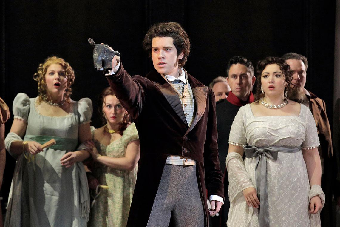 Lyric Opera of Kansas City's 2017 production of Eugene Onegin