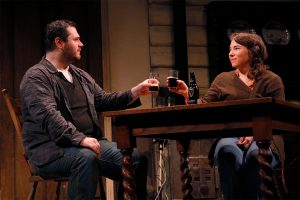 MJ Sieber and Emily Chisholm in Outside Mullingar at Seattle Rep
