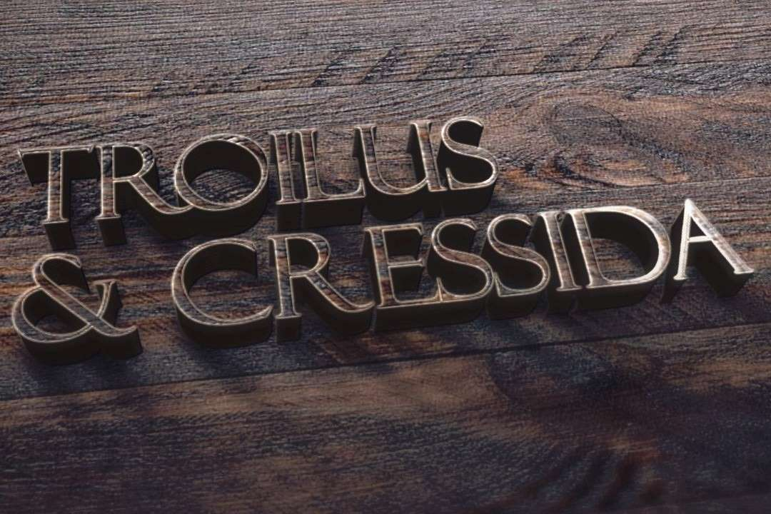 Seattle Shakespeare co promotional artwork for Troilus and Cressida