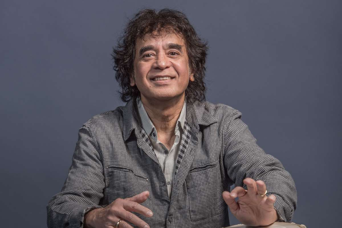Photo of Zakir Hussain