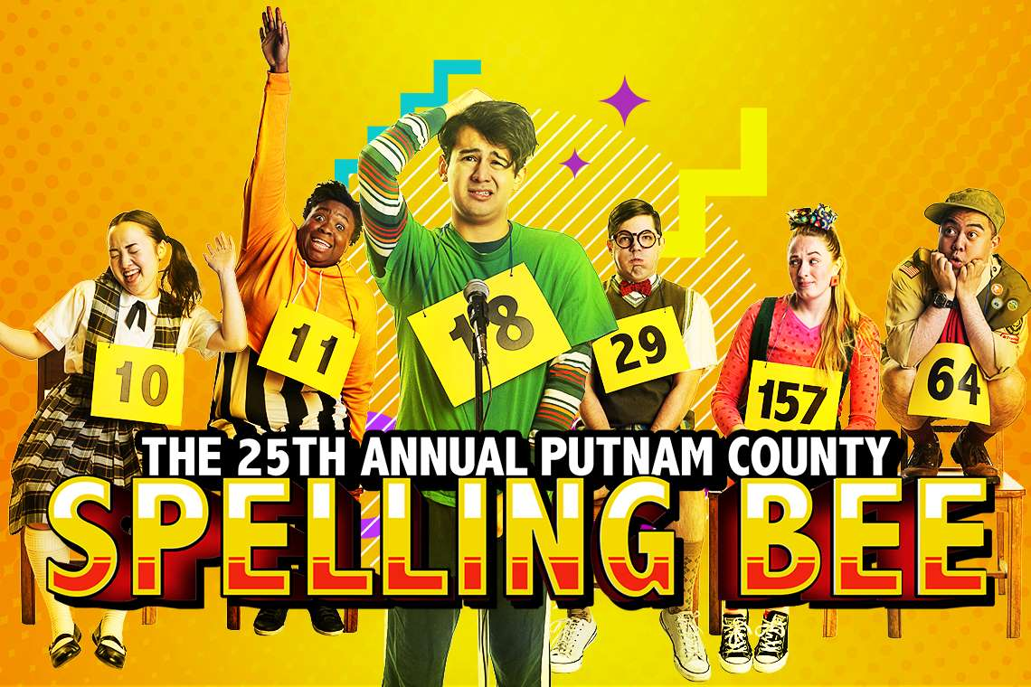 promo photo for 25th Annual Putnam county Spelling Bee