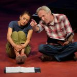 Dan Hiatt and Sarah Mitchell in a reading of They Promised Her the Moon