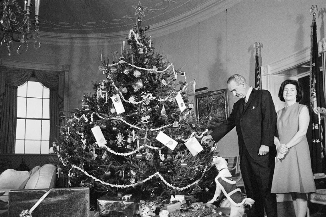 Midweek Moment of LBJ: Holiday Edition