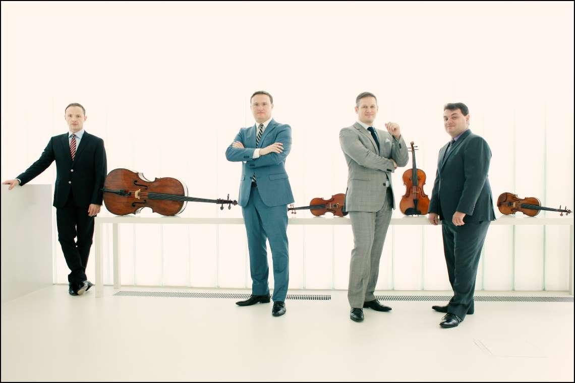 press photo of jerusalem Quartet