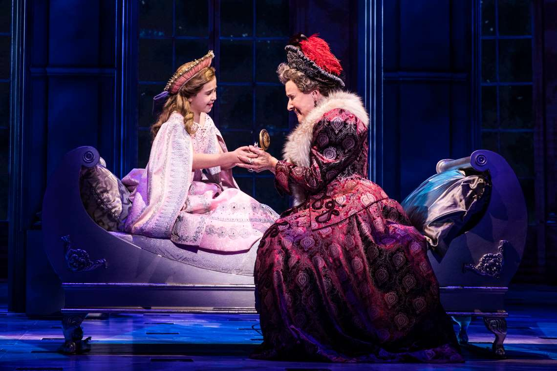 Victoria Bingham and Joy Franz in the National Tour of Anastasia