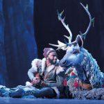Jelani Alladin and Andrew Pirozzi in Broadway's Frozen