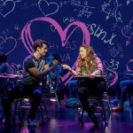 Kyle Selig and Erika Henningsen in Broadway's Mean Girls