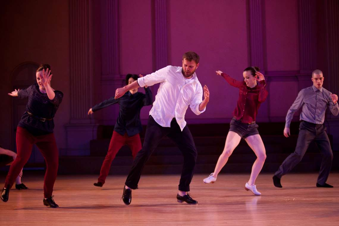 Dorrance Dance performance of SOUNDspace