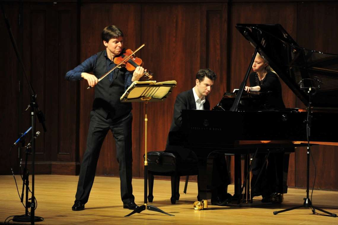 Joshua Bell and Alessio Bax performing
