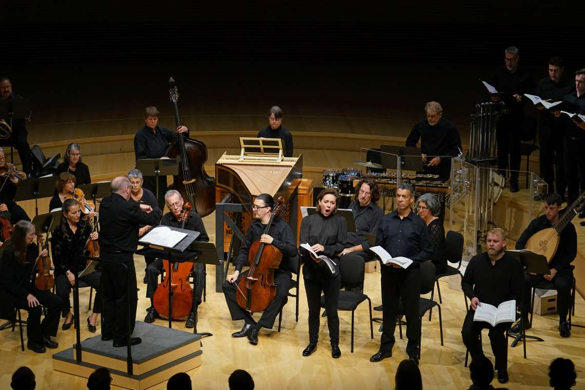 Philharmonia Baroque Orchestra performing