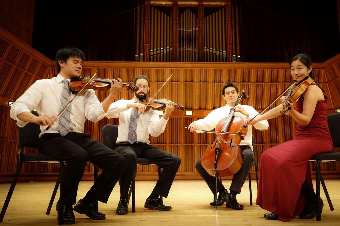Sarah Chang with Telegraph String Quartet