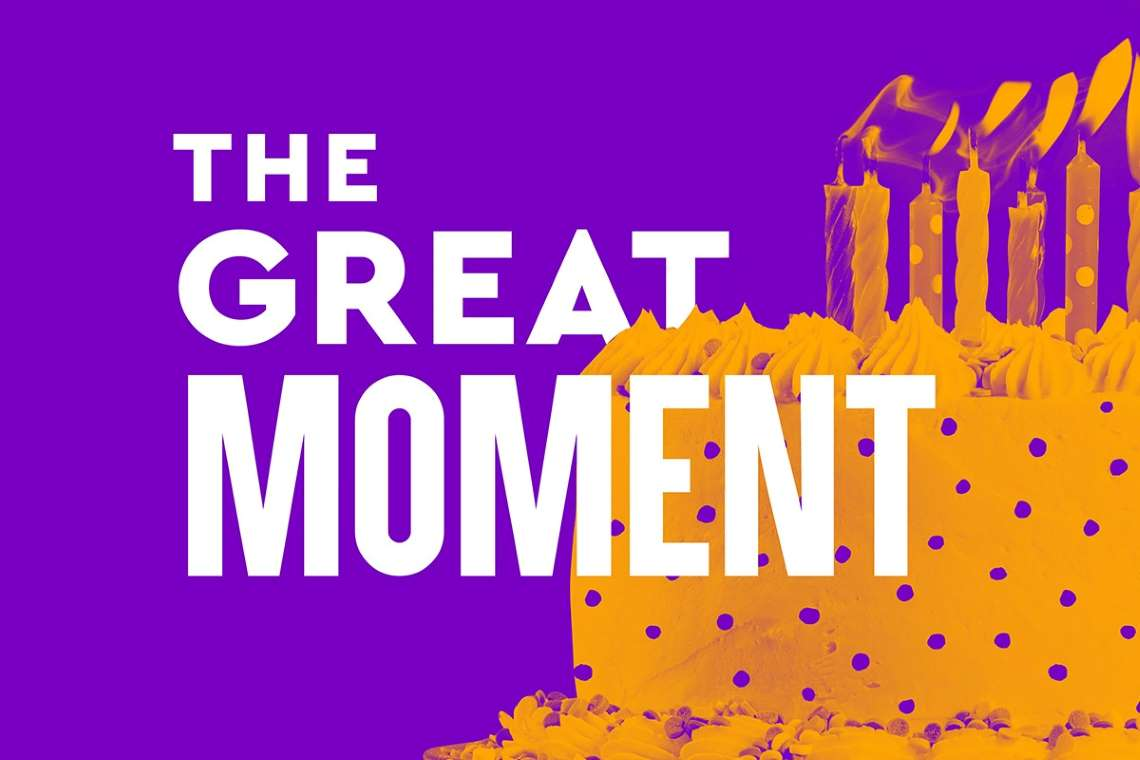 promo artwork for The Great Moment