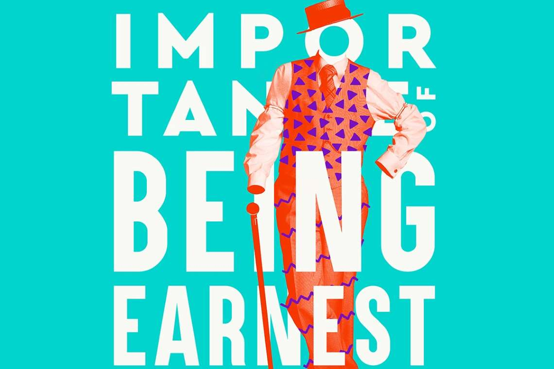 promo artwork for the importance of being earnest