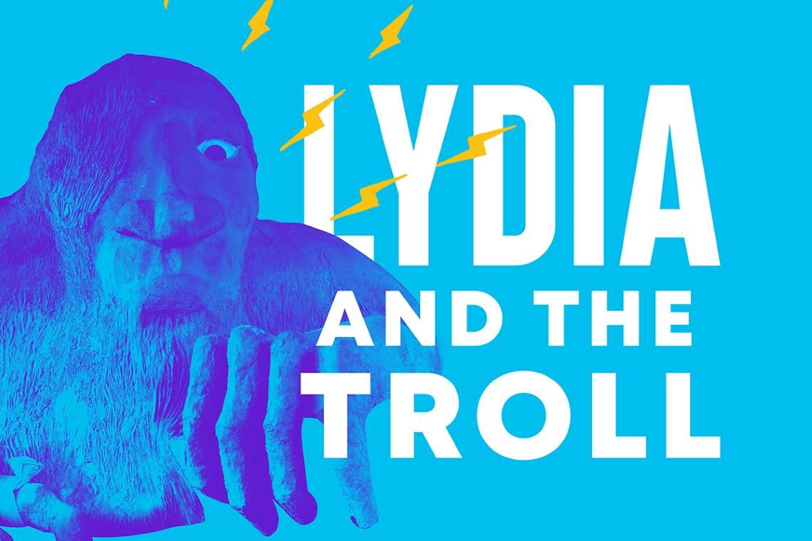 promo artwork for Lydia and the Troll