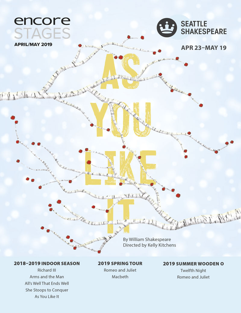 Seattle Shakespeare - As You Like It - 2019