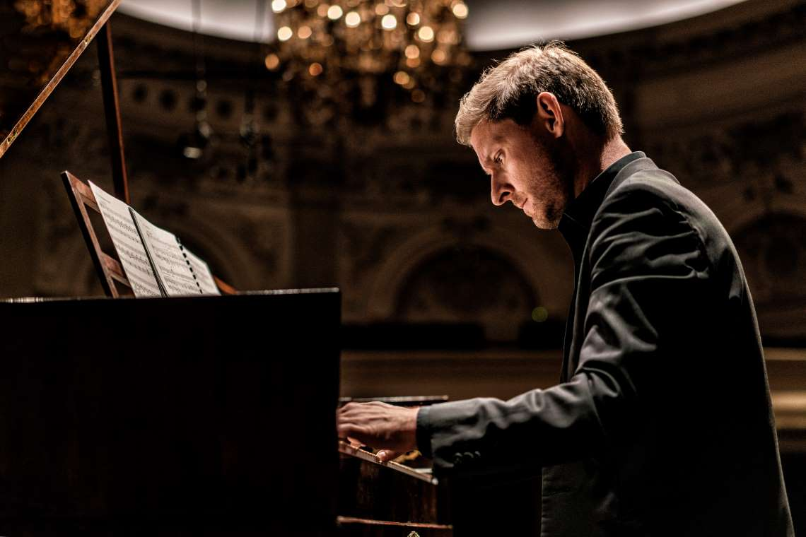 Pianist Kristian Bezuidenhout