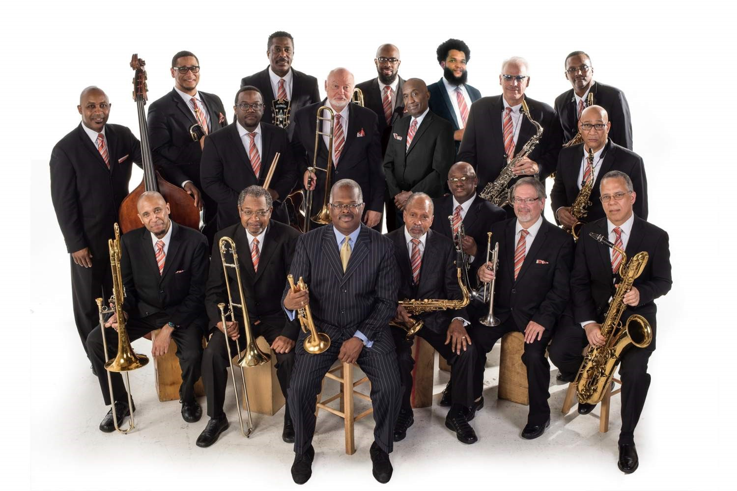 The Count Basie Orchestra memebers