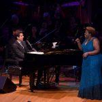 Tony DeSare and Capathia Jenkins performing