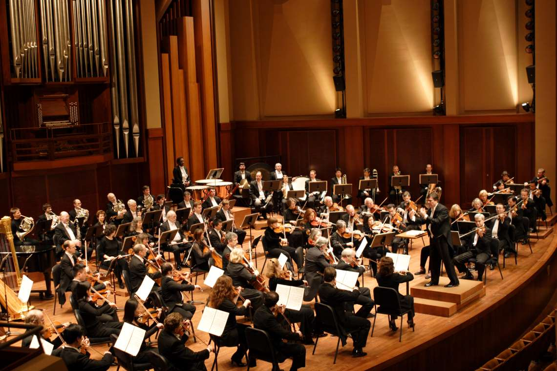 Seattle Symphony performing