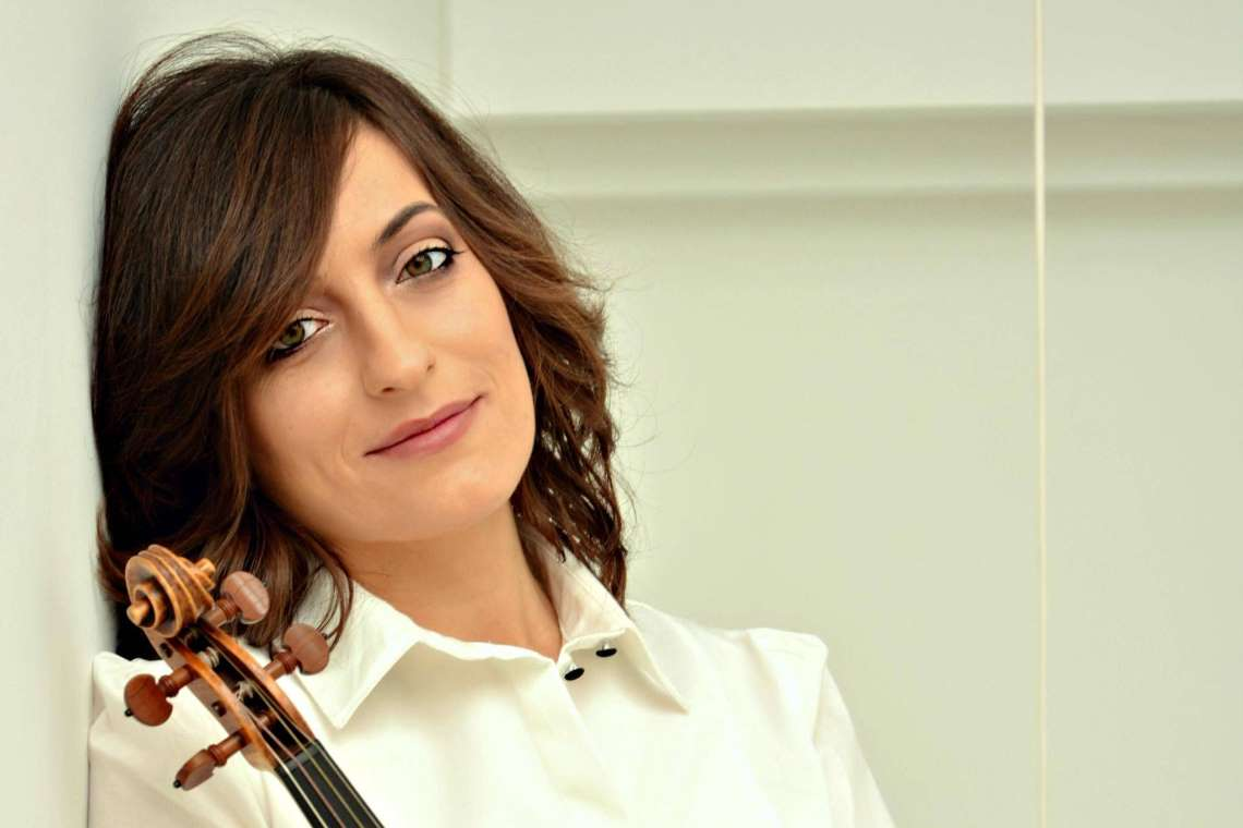 conductor and violinist Elisa Citterio