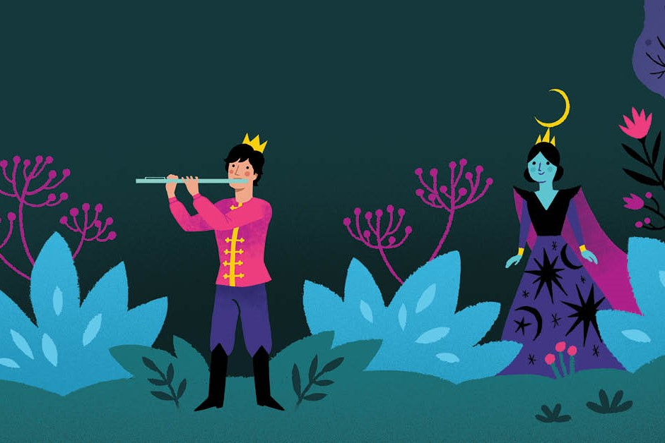 Artwork for the Magic Flute
