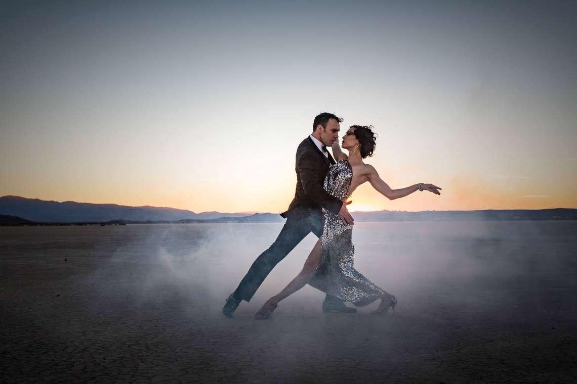 Tango dancers Tatricio Touceda and Eva Lucero