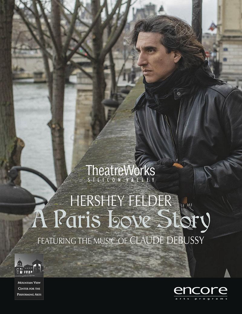 Hershey Felder: Paris Love Story - TheatreWorks