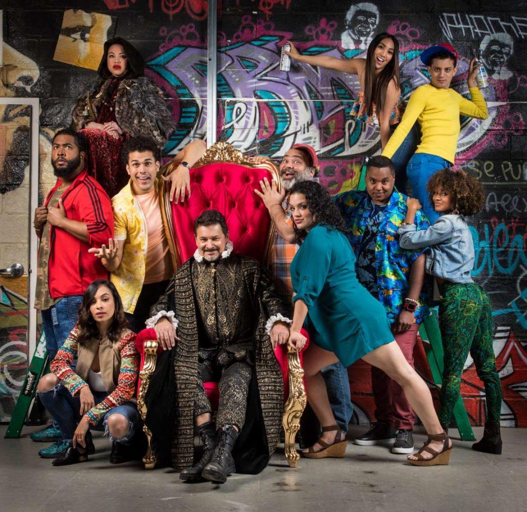 Cast of 'Kiss My Aztec!'.