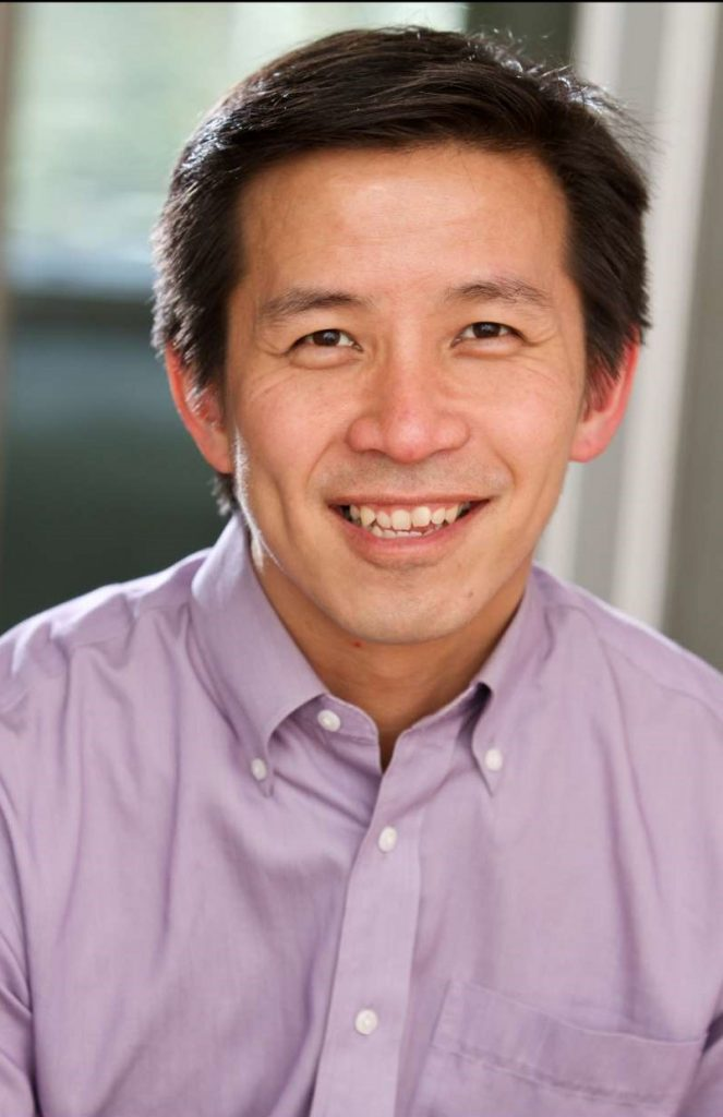 Director and actor David Hsieh. Photo by John Ulman