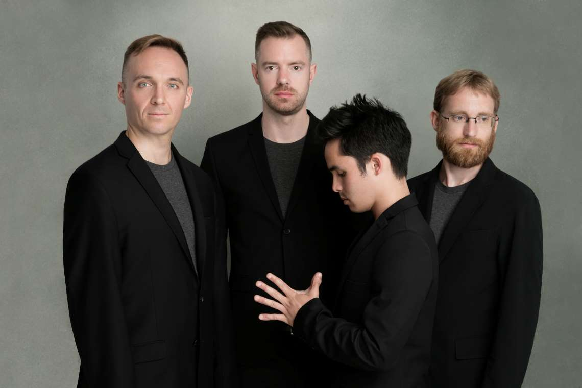 The JACK Quartet. Photo by Beowulf Sheehan
