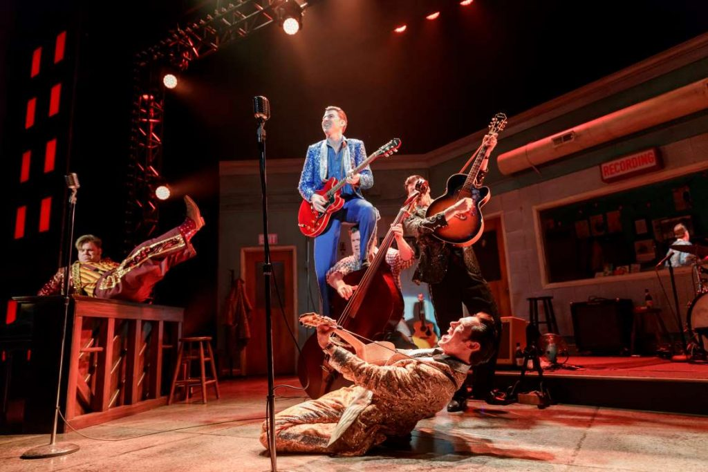2019 production of 'Million Dollar Quartet' at Village Theatre.