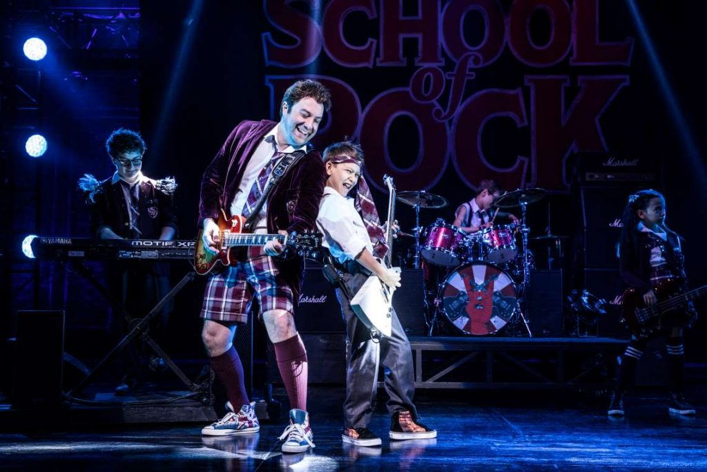 'School of Rock' tour.
