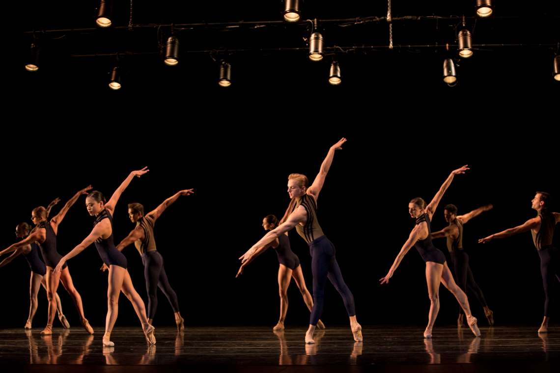 "PNB company dancers in ""Signature'."