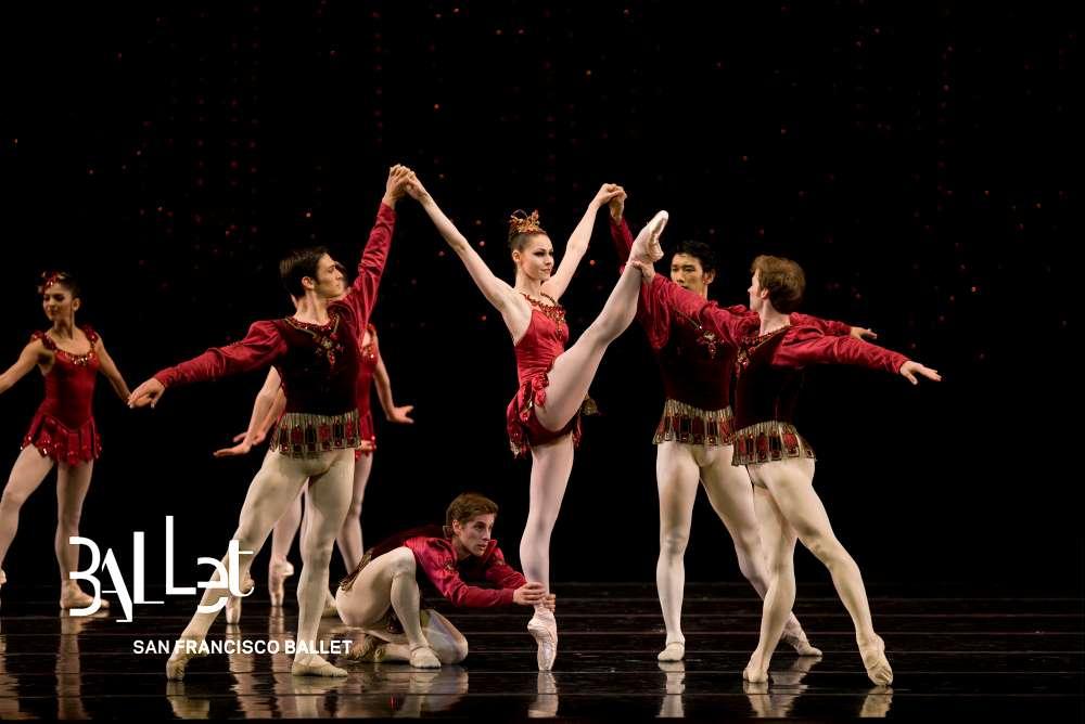 SF Ballet in Rubies