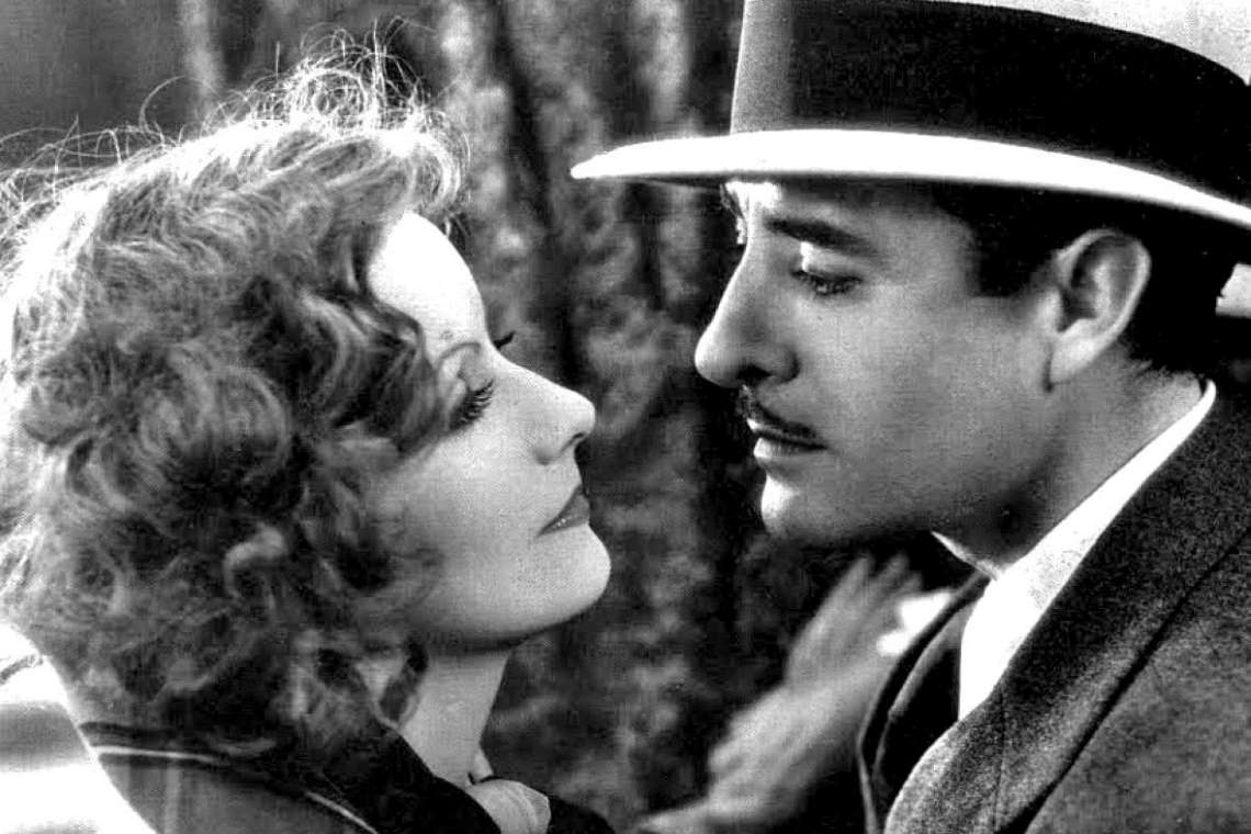 still from the film a woman of affairs