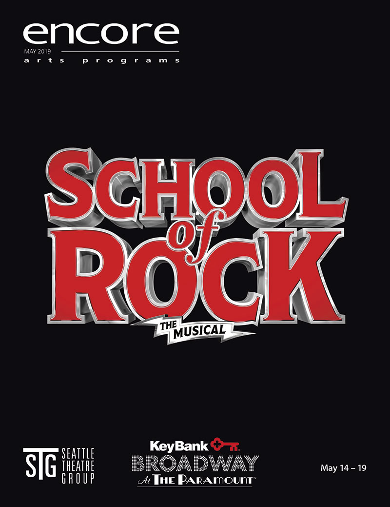 School of Rock - Broadway at the Paramount
