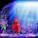 performance of B Underwater Bubble Show