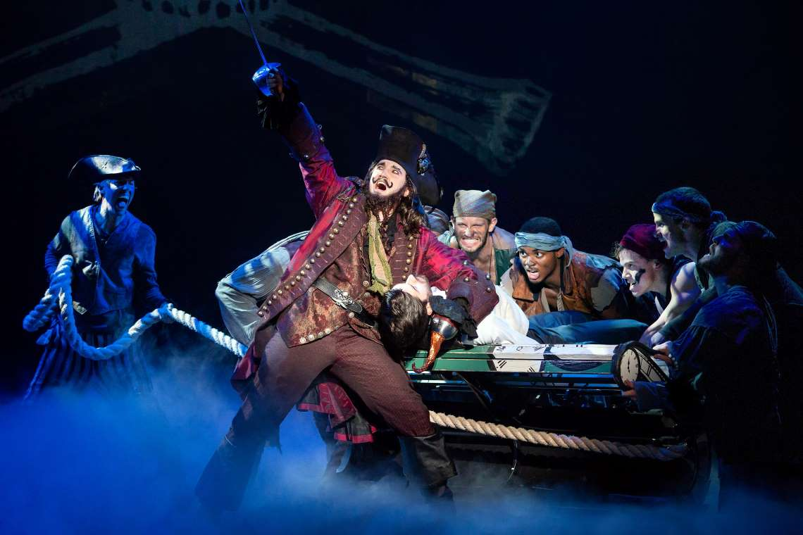 pirates in finding neverland