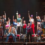 cast of Rent touring production