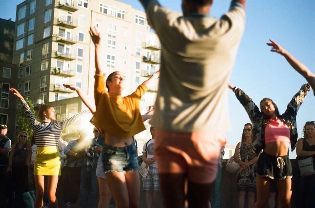 'The Purple Lemonade' at Summer at SAM: Sculptured Dance, 2017.