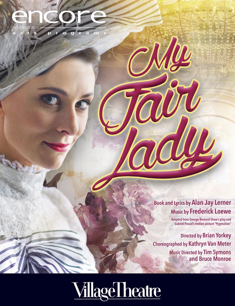 My Fair Lady 2015 Village Theatre