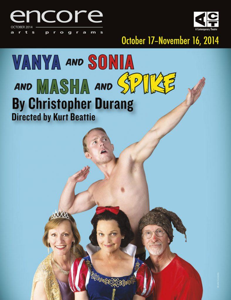 ACT054 Vanya Sonia Masha Spike 2014