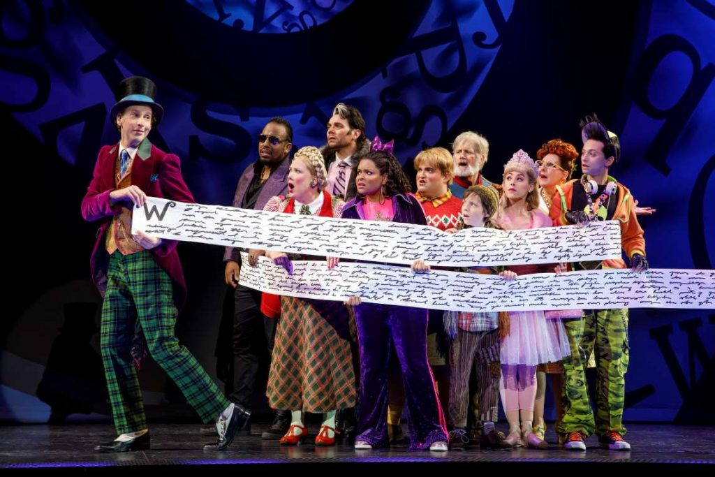 The cast of Roald Dahl's 'Charlie And The Chocolate Factory.'