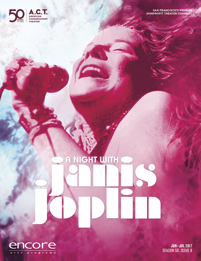 A night with Janis Joplin cover art