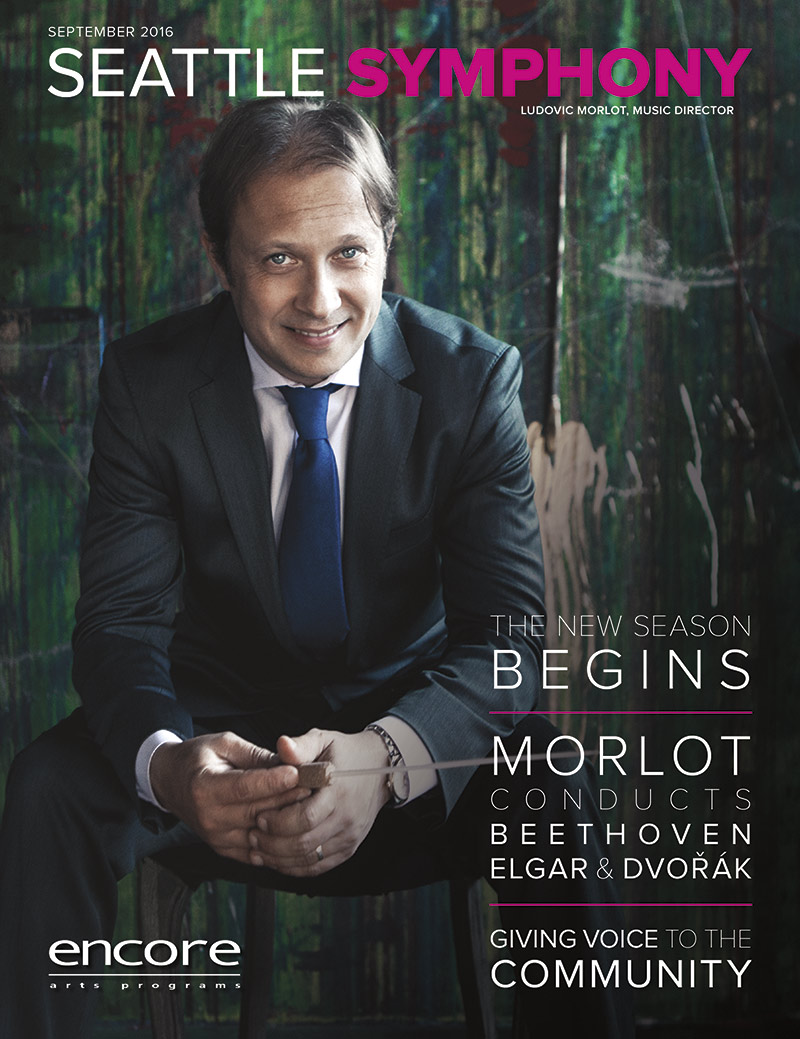 September 2016 at Seattle Symphony cover art