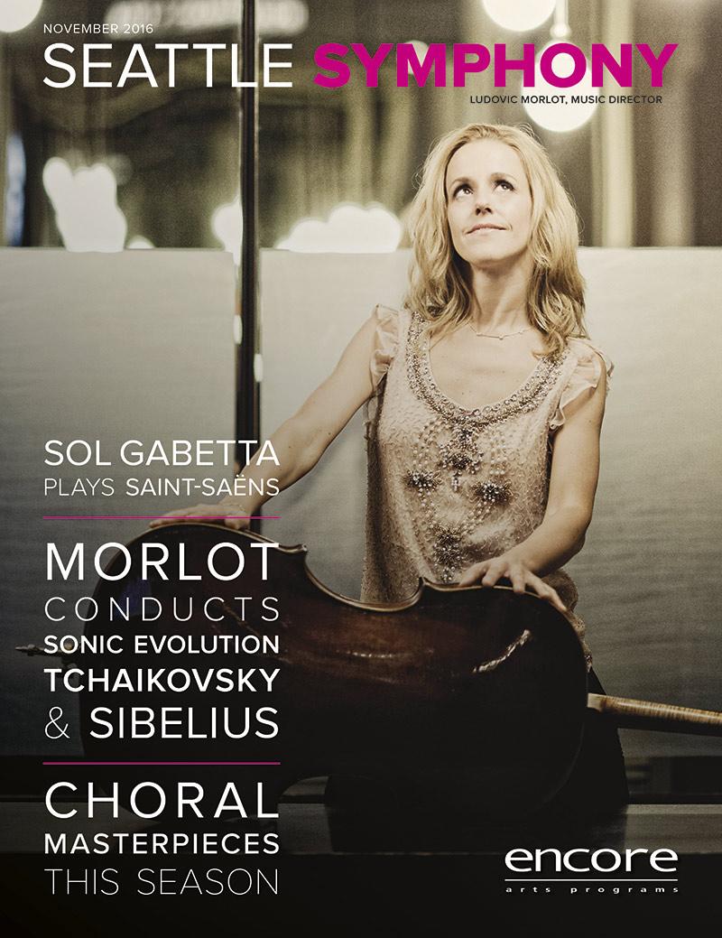 Seattle Symphony November 2016 cover art