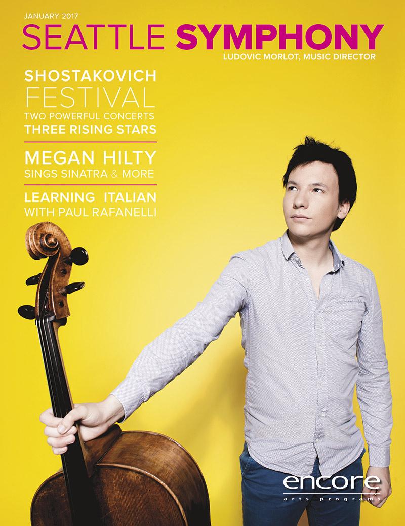 Seattle Symphony January 2017 cover art